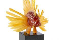 BD-10685400-Lionfish-sculpture-amber-lost-wax-lim-ed-8ex-Image-©-LALIQUE-SA