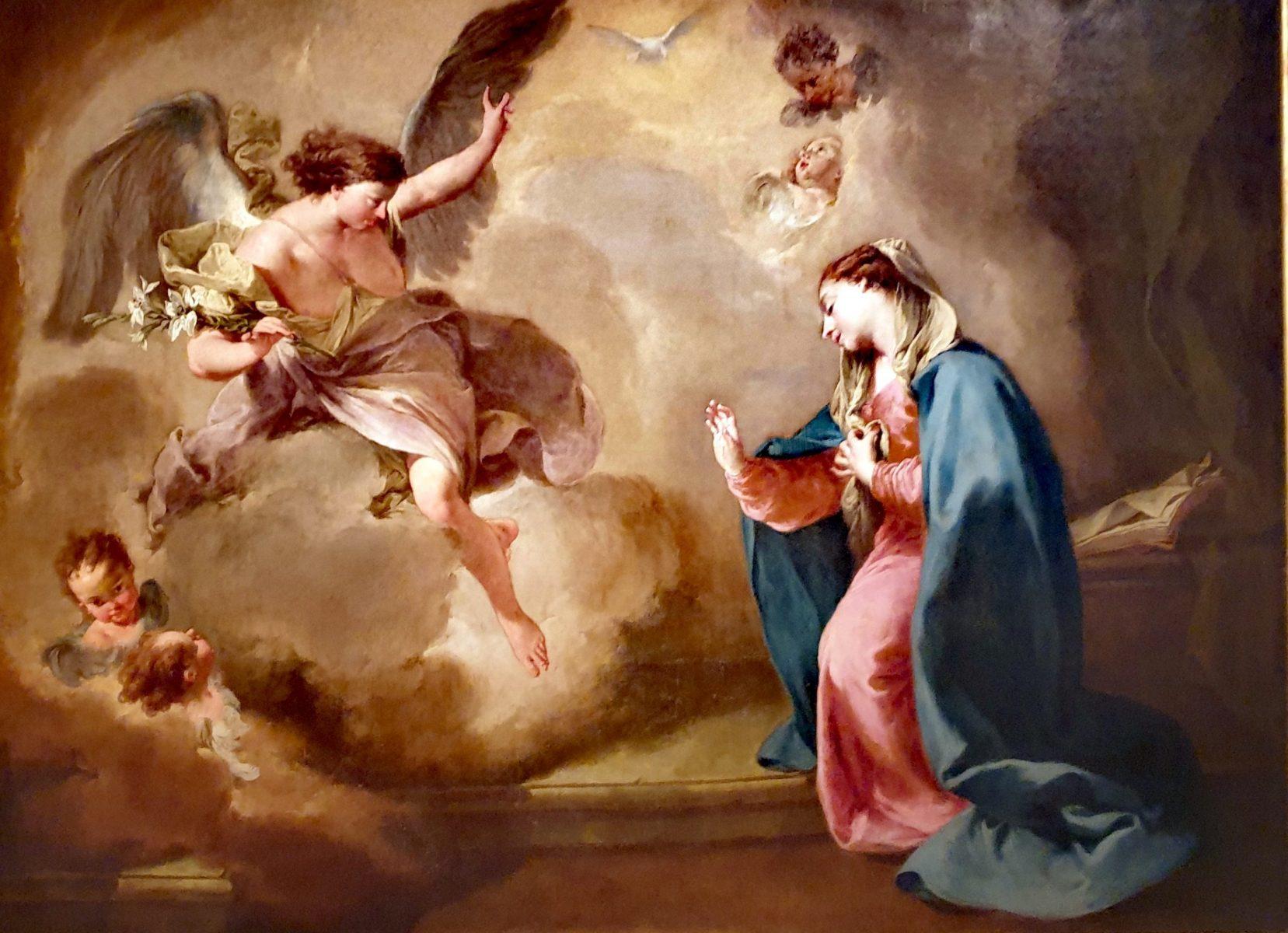 L'Annunciazione of Giambattista Pittoni, 1757
